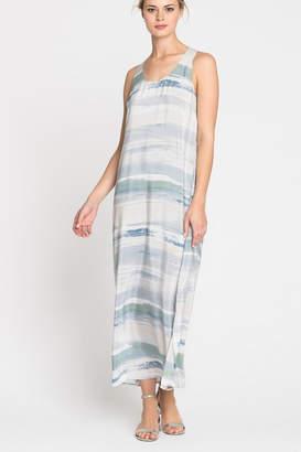 Nic+Zoe Nic + Zoe Watercolor Maxi Dress