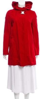 Dolce & Gabbana Long Sleeve Trench Coat