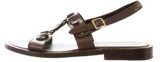 Marni Leather Gladiator Sandals