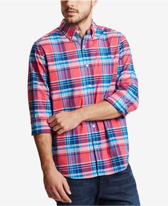 Nautica Men Classic Plaid Shirt