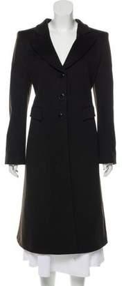 Giorgio Armani Vrigin Wool Long Coat