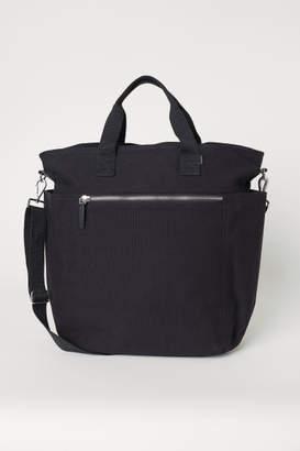 H&M Canvas Shoulder Bag - Black