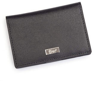 Royce Leather Royce Rfid Blocking Id Card Case Wallet in Saffiano Leather