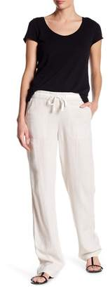 Susina Drawstring Linen Blend Pants (Regular & Petite)
