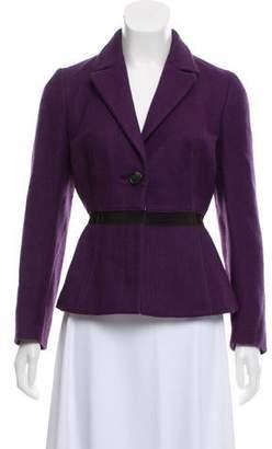 Prada Wool Long Sleeve Jacket