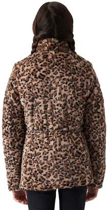 Gallery Girls Reversible Quilt to Faux-Fur Jacket