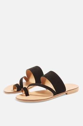 Topshop Womens Hope Sandals - Black