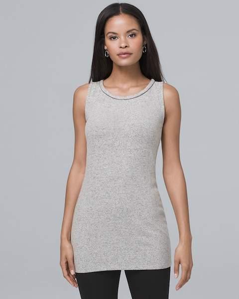 Whbm Sleeveless Knit Tunic