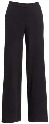 Saks Fifth Avenue Cashmere Wide Leg Pant