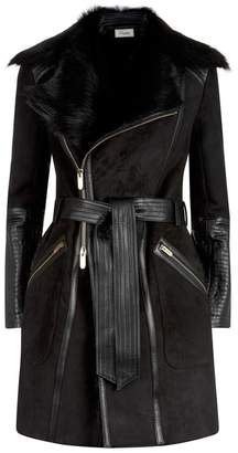 Temperley London Mila Sheepskin Coat