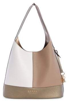 GUESS Heidi Two-Piece Colourblock Hobo Tote Set