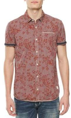 Buffalo David Bitton Sibow Floral Cotton Sport Shirt