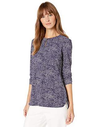 Anne Klein Women's Long Sleeve Knit Tunic
