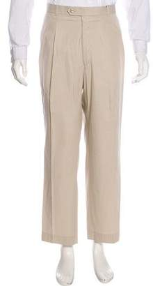 Burberry Pleated Chino Pants