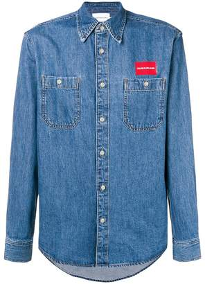 Calvin Klein Jeans denim uniform shirt