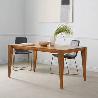 west elm Anderson Solid Wood Dining Table - Caramel