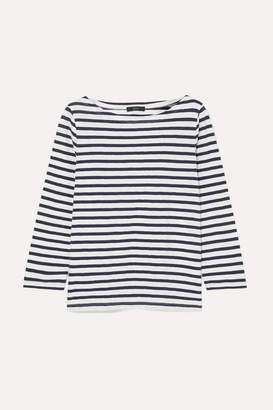 J.Crew Striped Cotton Top