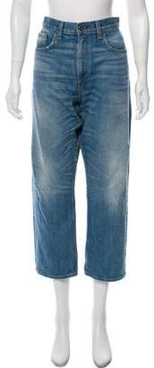 Rag & Bone High-Rise Denim Jeans