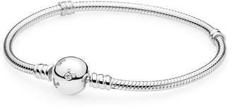 Pandora Disney Mickey Mouse Crystal Bead Chain Charm Bracelet