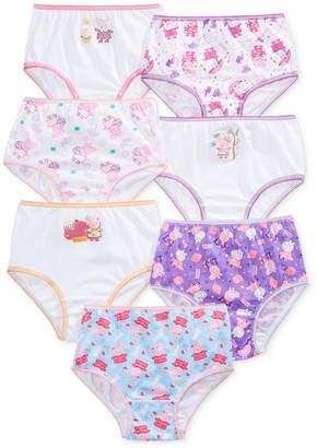 Peppa Pig Nickelodeon's Underwear, 7-Pack, Toddler Girls