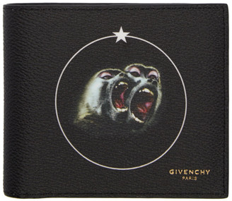Givenchy Black Monkey Brothers Wallet $390 thestylecure.com