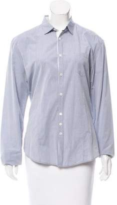 John Varvatos Long Sleeve Button-Up Top