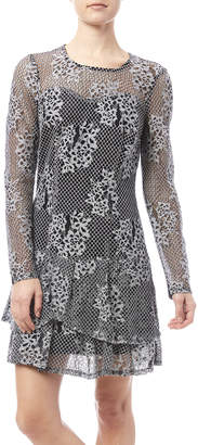 KUT from the Kloth Lace Flare Dress