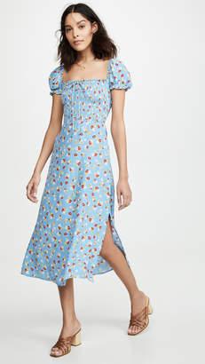 Faithfull The Brand Castilo Midi Dress