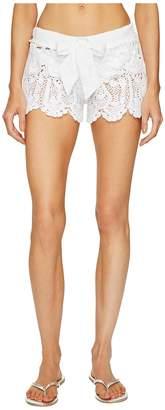 Letarte Crochet Shorts Women's Swimwear