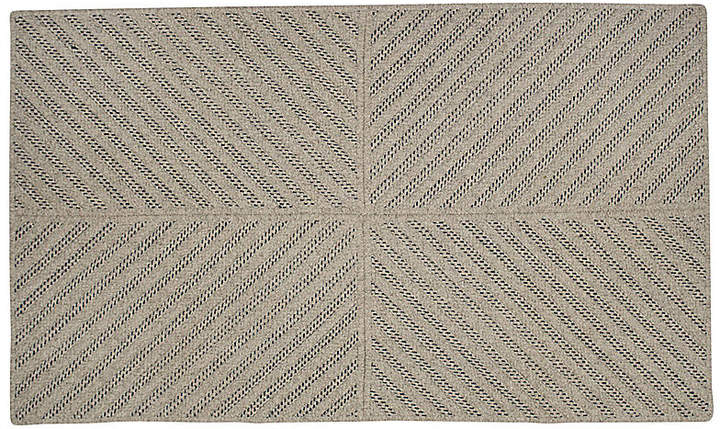 Abarrane Braided Rug - Dark Blue - 6'x9'