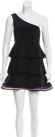 Alice + OliviaAlice + Olivia Silk One-Shoulder Dress