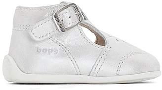 Bopy POUM Leather Ankle Boots