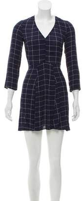 Reformation Long Sleeve Mini Dress