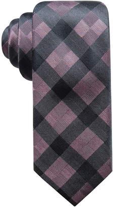 Ryan Seacrest Distinction Men's Monte Check Slim Silk Tie