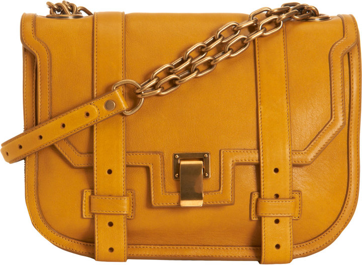 Proenza Schouler PS1 Mini Messenger Leather