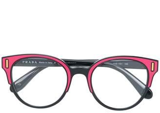Prada (プラダ) - Prada Eyewear ボストン 眼鏡フレーム