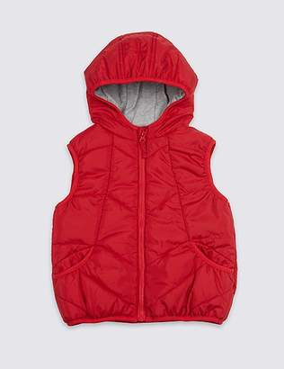 Marks and Spencer 2 Pocket Hooded Gilet (3 Months - 7 Years)