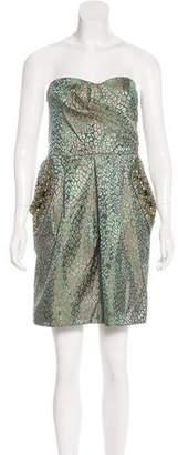 Matthew Williamson Silk Embellished Dress