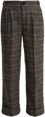 Masscob Anderson cropped cotton-blend trousers