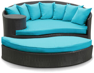 Modway Outdoor Taiji Outdoor Patio Wicker Rattan Daybed