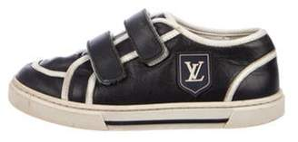 Louis Vuitton Boys' Leather Low-Top Sneakers blue Boys' Leather Low-Top Sneakers