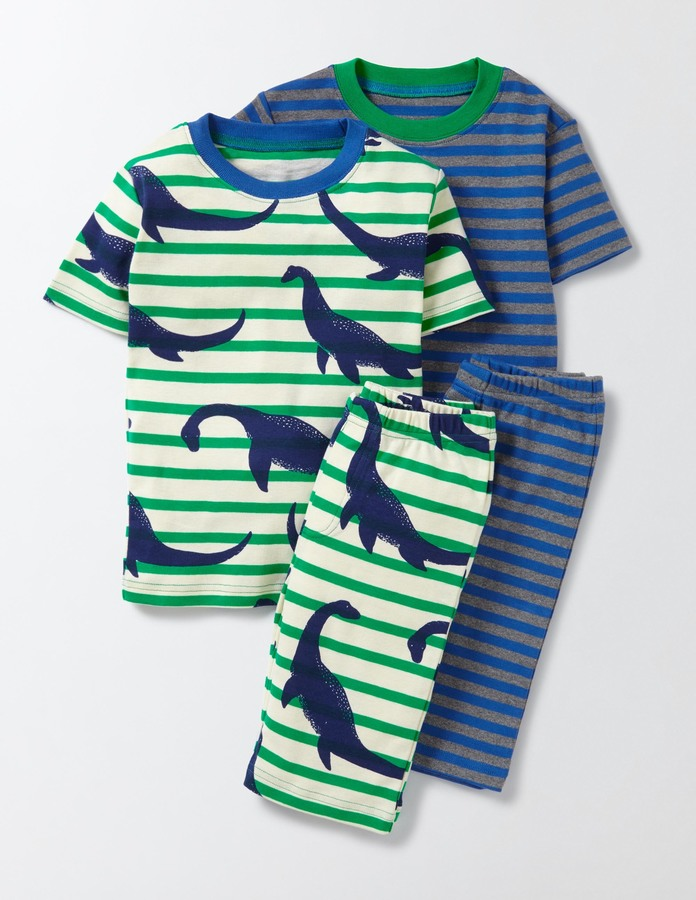 BodenCosy Twin Pack Short Johns
