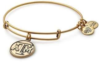 Alex and Ani Texas A&M University Logo Charm Wire Adjustable Bracelet