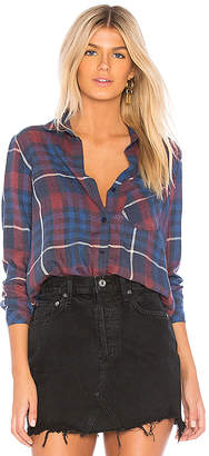 Bella Dahl Aurora Plaid Pocket Button Down