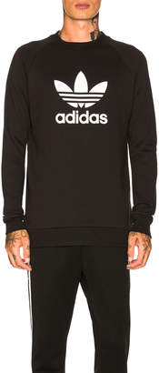 adidas Trefoil Warm Up Crew Sweatshirt