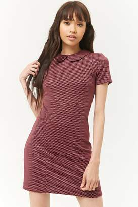 Forever 21 Fleur-de-Lys Print Shift Dress