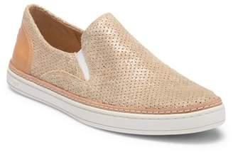 UGG Adley Stardust Leather Slip-On Sneaker
