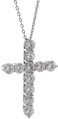 Tiffany & Co. Heritage  Platinum 1.77 Ct. Tw. Diamond Cross Necklace
