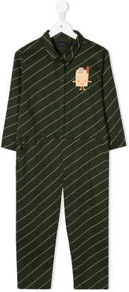 Tiny Cottons striped long-sleeve jumpsuit
