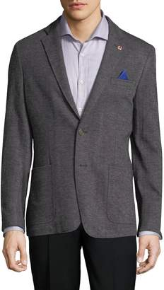 Ben Sherman Men's Herringbone Notch Sportcoat